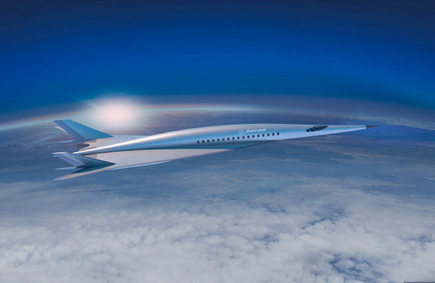 Boeing Passenger-Carrying Hypersonic Vehicle Concept