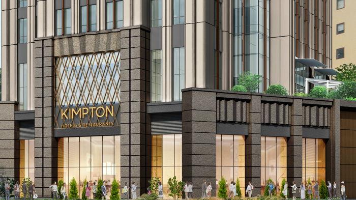 Rendering of the Kimpton Tokyo Shinjuku Hotel