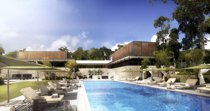 Rendering of the One&Only Desaru Coast Resort