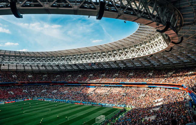 World Cup Moscow Russia - Photo by Tom Grimbert on Unsplash