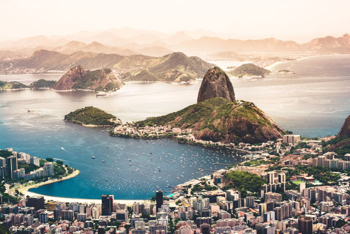 Aerial view of Brazil's Rio de Janeiro - Photo by Agustín Diaz on Unsplash