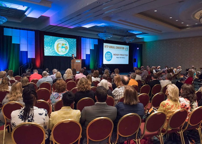 Attendees at HFTP Annual Convention