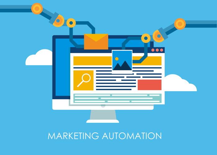 Illustration - Marketing Automation Concept