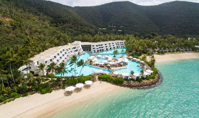 Hayman Island Resort in Australia - Aerial view
