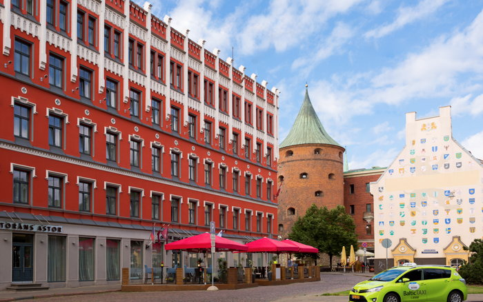 Astor Riga Hotel - Exterior