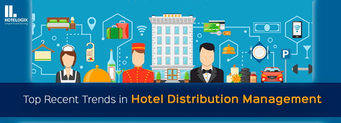 Illustration - Hotel booking concept