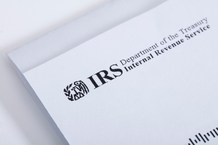 An IRS letter