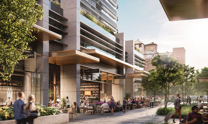 Rendering of the Four Points By Sheraton Sydney Central Park