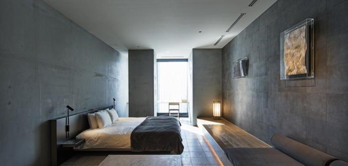 Guestroom at the Hotel Koé - Tokyo, Japan