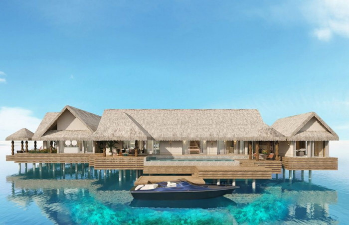 Rendering of the Joali Maldives Resort