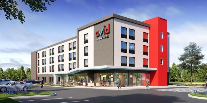 Rendering of the avid-hotel Oklahoma City