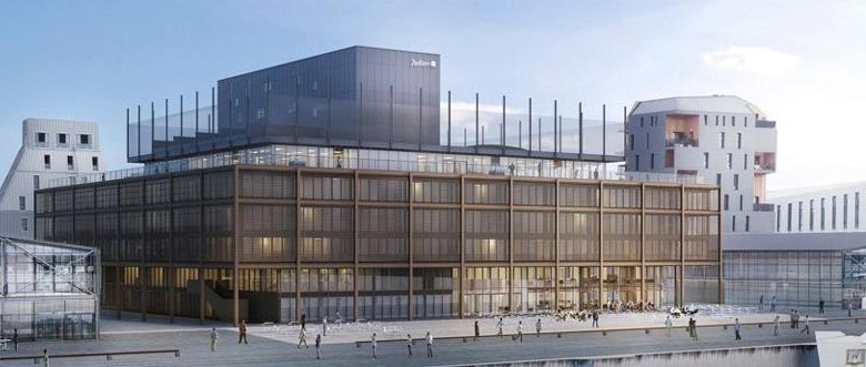 Rendering of the Radisson Blu Hotel Bordeaux