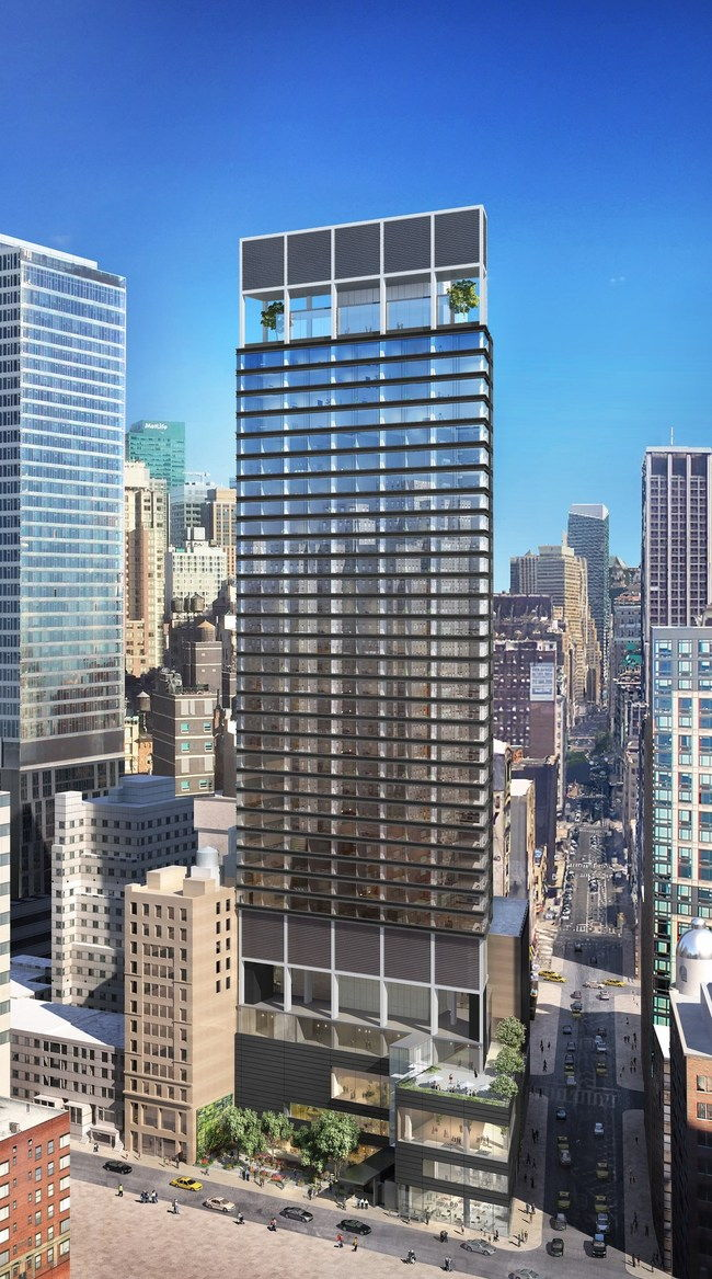 Rendering of the Ritz-Carlton New York, NoMad