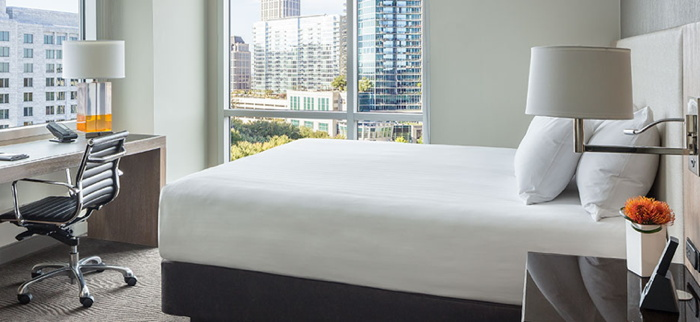 Guestroom at Hyatt Centric Hotel Atlanta