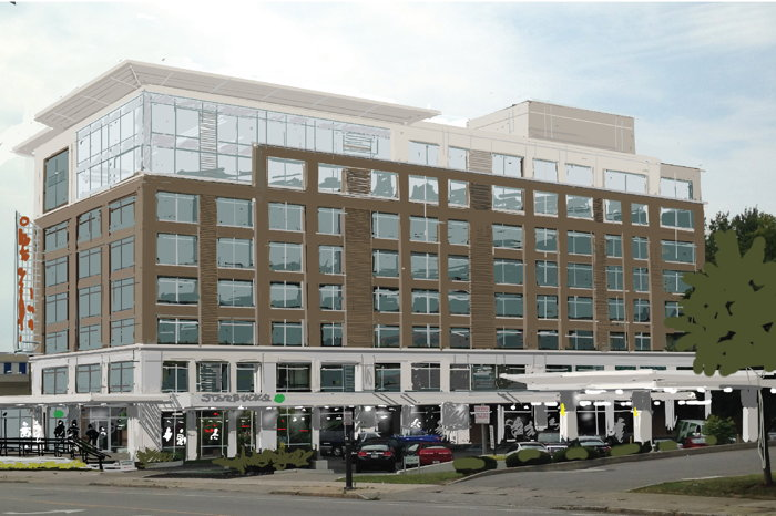 Rendering of the Residence Inn Buffalo Downtown