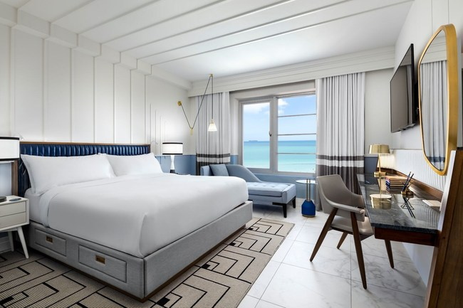 Guestroom at the Cadillac Hotel & Beach Club In Miami Beach