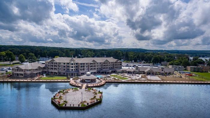Chautauqua Harbor Hotel Opens on the Shores of Lake
