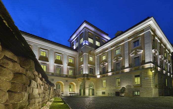 Historic Palazzo Montemartini Hotel in Rome - Exterior