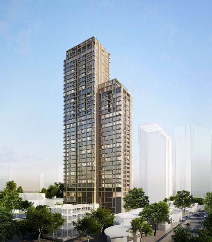 Rendering of the Kimpton Bangkok Hotel