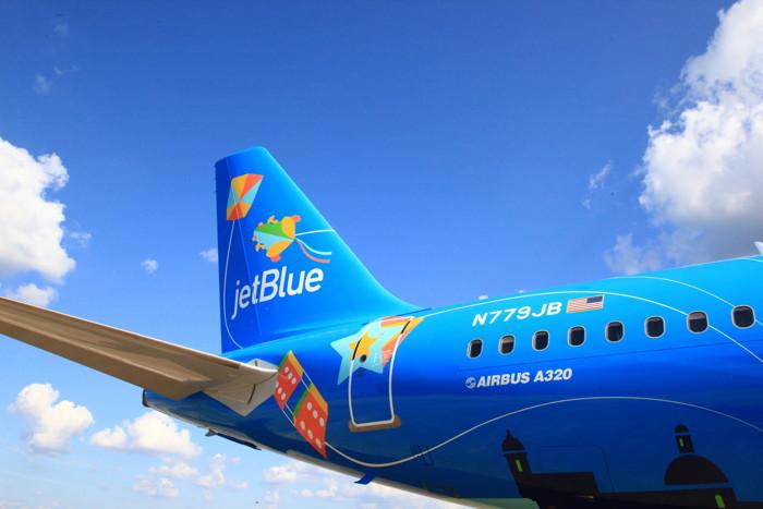 JetBlue Livery: Bluericua