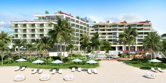 Rendering of the Andaz Turks & Caicos at Grace Bay