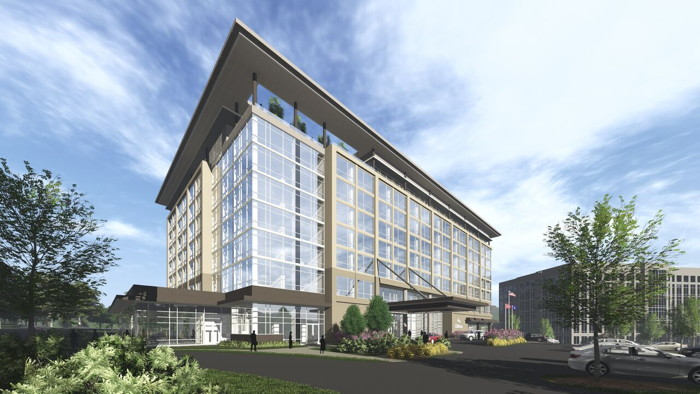 Rendering of the Hilton Franklin Cool Springs
