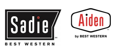 Sadie Hotel and Aiden Hotel logos