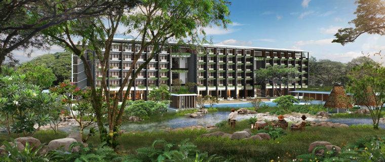 Rendering of the Hyatt Regency Arusha