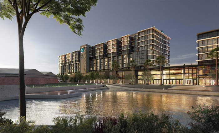 Rendering of the AC Hotel by Marriott Cape Town, Waterfront