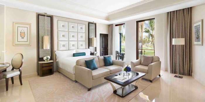 Suite at the Al Bustan Palace, a Ritz-Carlton Hotel