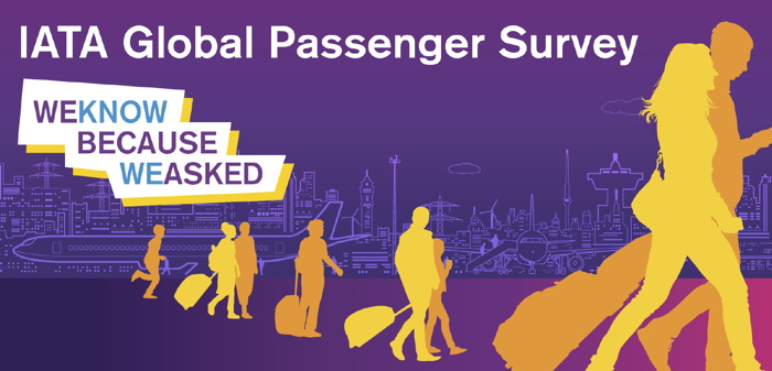 Cover from '2018 Global Airline Passenger Survey' report