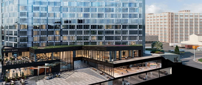 Hyatt Place Boston Seaport District Begins Construction