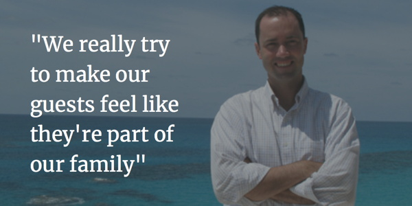 David Dodwell, Jr., GM of the Reefs Resort & Club in Bermuda
