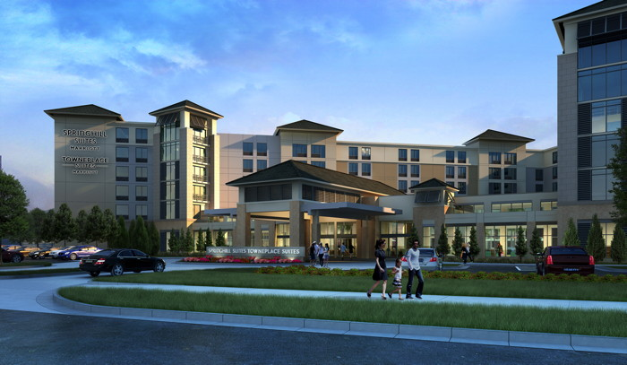 Dual-Branded SpringHill Suites and TownePlace Suites - Exterior
