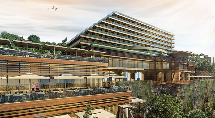 Rendering of the Radisson Blu Hotel in Trabzon, Turkey