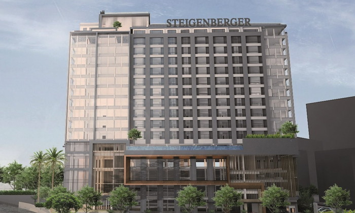 Rendering of the Steigenberger Hotel Riverside in Bangkok