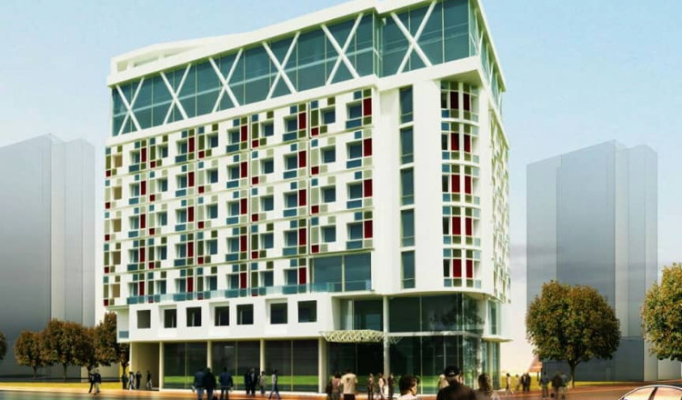 Rendering of the BON Hotels in Ethiopia
