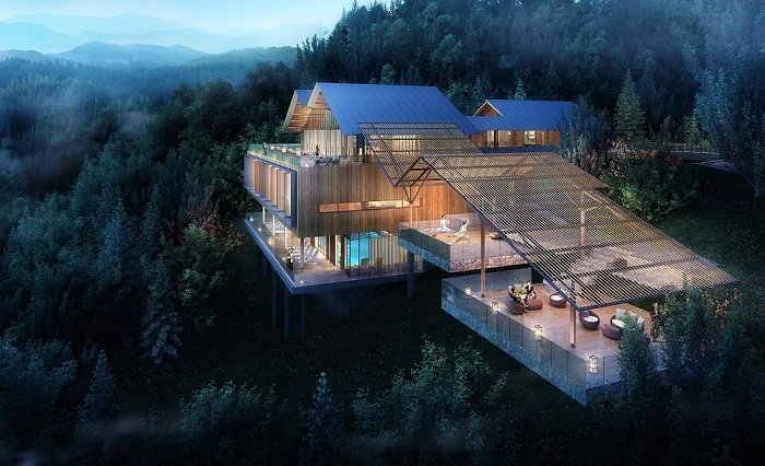 Rendering of the M Collection Hangzhou