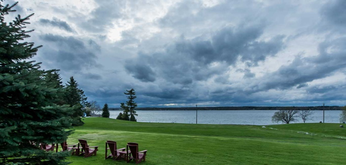 The Inn at Gran View Ogdensburg - View of St Lawrence River