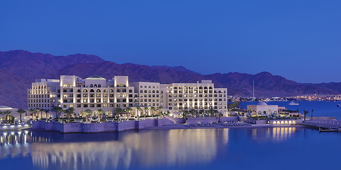 Al Manara, a Luxury Collection Hotel, Saraya Aqaba - Exterior view from sea