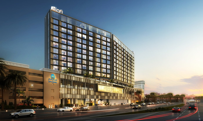 Rendering of the Aloft City Centre Deira, Dubai