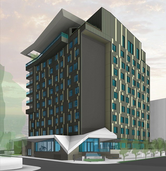 Rendering of the Tapestry Collection hotel Nashville