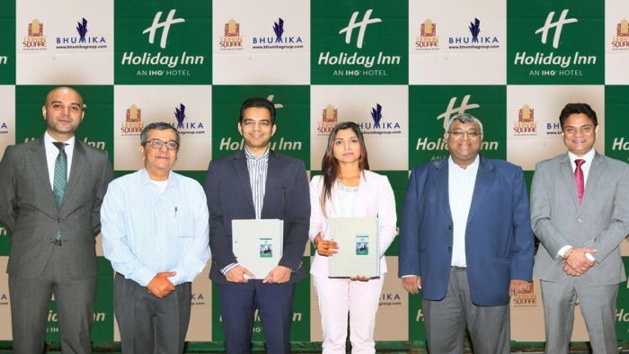 Image from Holiday Inn Udaipur Urban Square signing ceremony