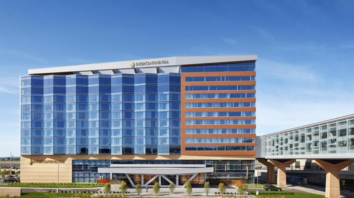 Rendering of the InterContinental Minneapolis-St. Paul Airport Hotel
