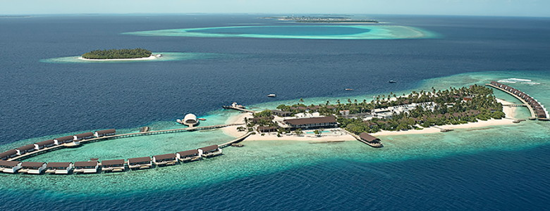 The Westin Maldives Miriandhoo Resort - Aerial View