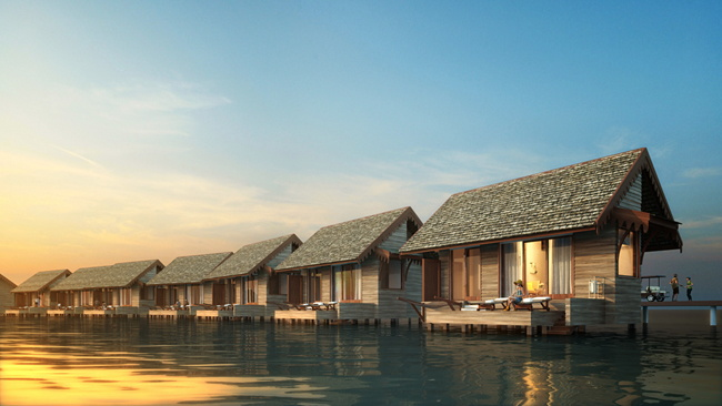 Saii Lagoon Maldives Will Open As Part of Curio Collection by Hilton In 2019
