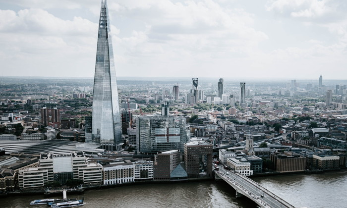 The Shard in London - Photo by Greg Tockner on Unsplash