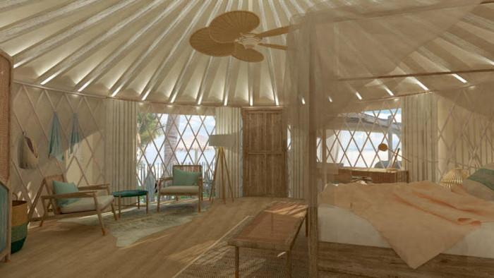 Guestroom (Tented Villa) at Awei Pila Resort