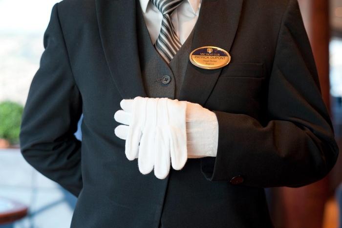 A MSC Cruises butler