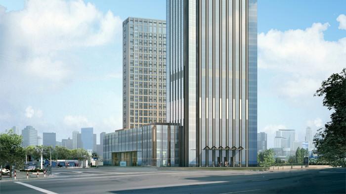 Rendering of the Langham Hefei Hotel
